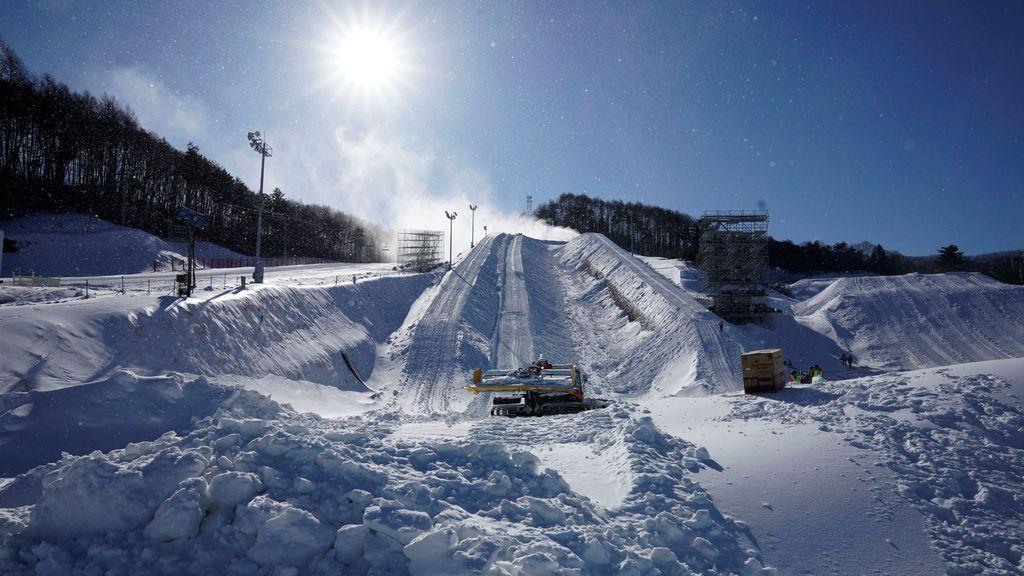 Preparación de los Juegos Olímpicos de Invierno en Corea del Sur