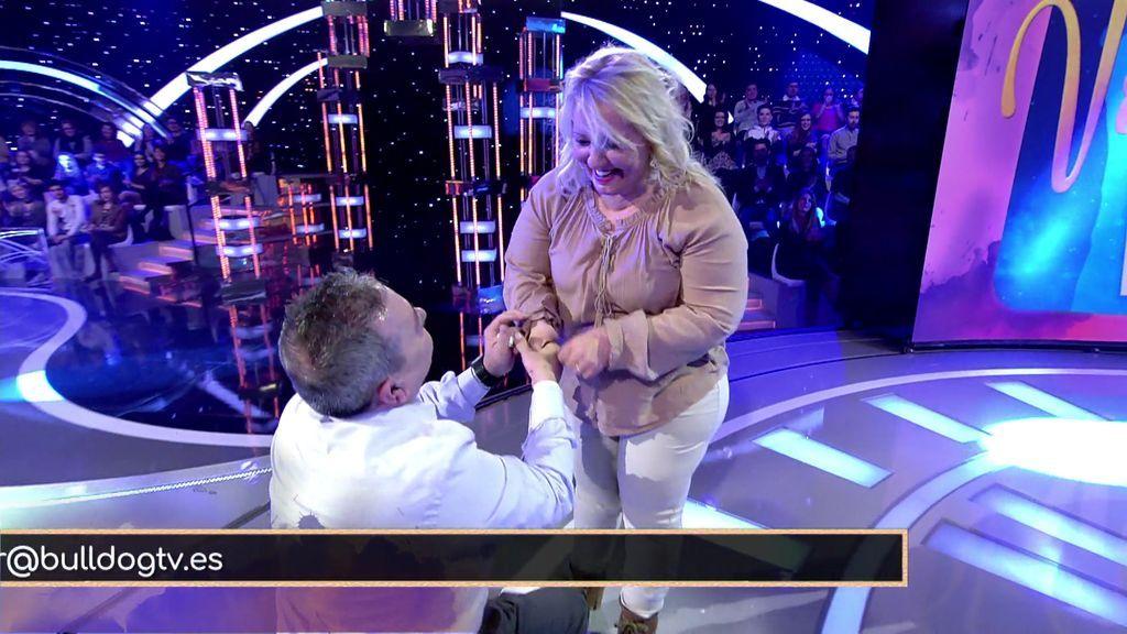 ¡Sí, quiero! Ramón pide matrimonio a Mari y ella, que siempre le había dicho que no, ¡acepta!