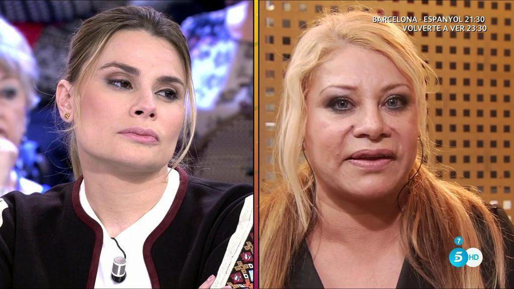 """María Lapiedra, cara a cara con Alexa Blun: """"Teniendo una denuncia puesta vuelves por 500€ ¡es muy cutre tía!"""""""