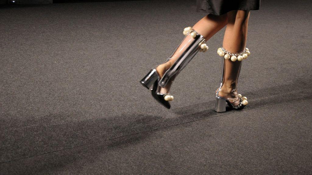 Las botas fueron uno de los detalles que mas gustaron