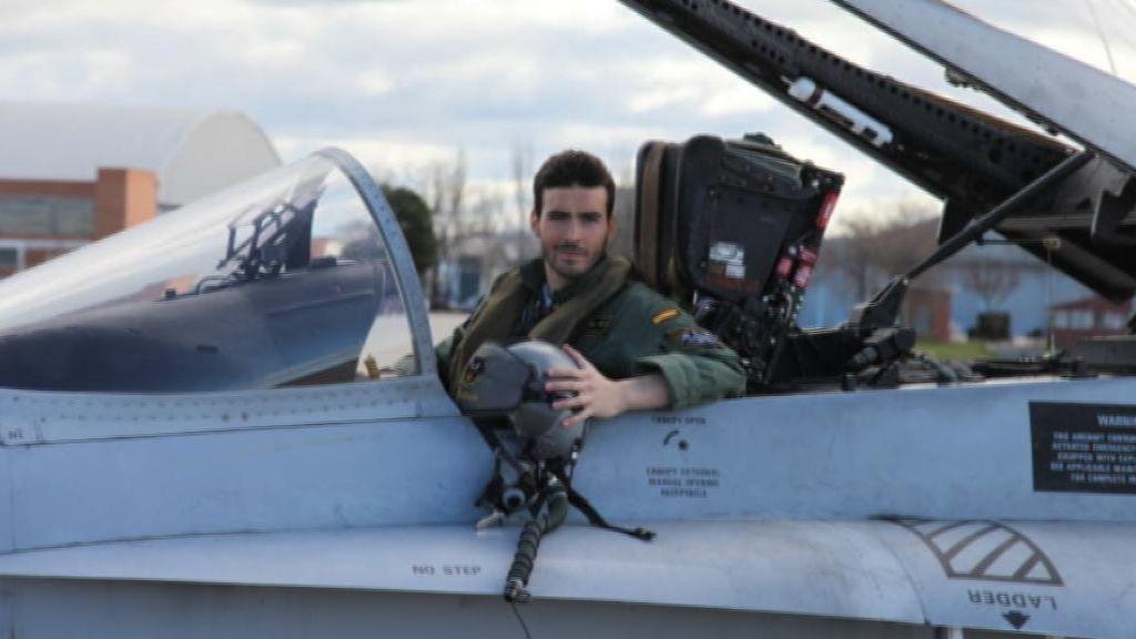 El teniente muerto al estrellarse su F-18  se negó a volar con el avión una semana antes