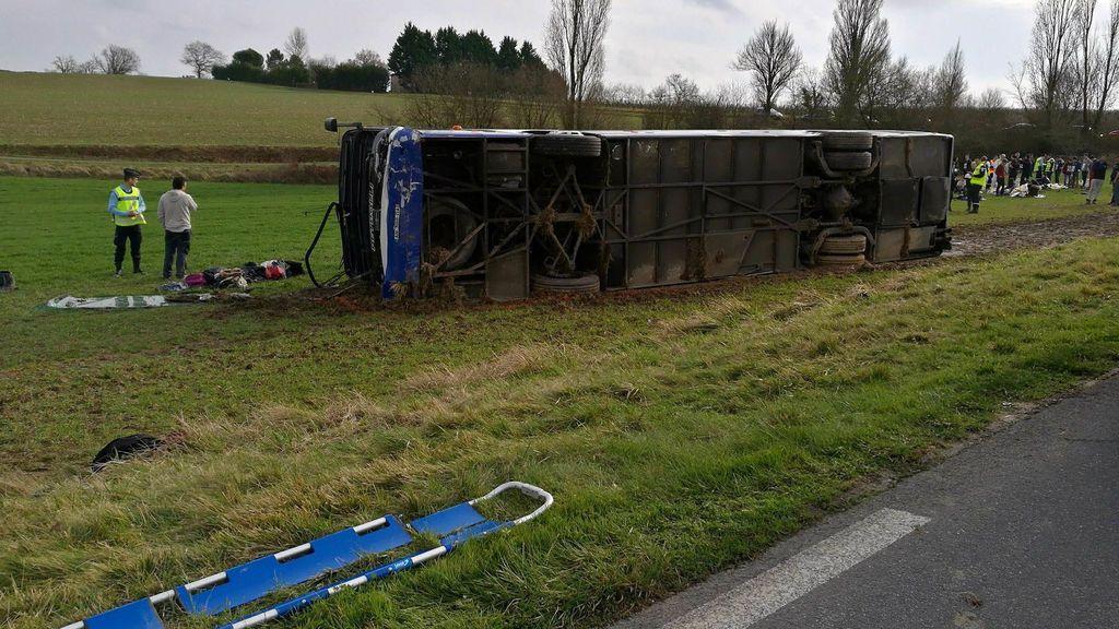 El choque de un autobús escolar causa 29 heridos en el suroeste de Francia