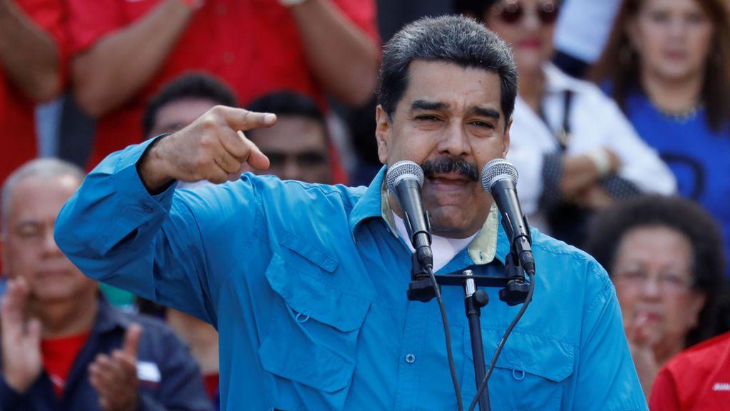 """Nicolás Maduro: """"Mariano Rajoy, ponte en cuatro paticas, compadre"""""""