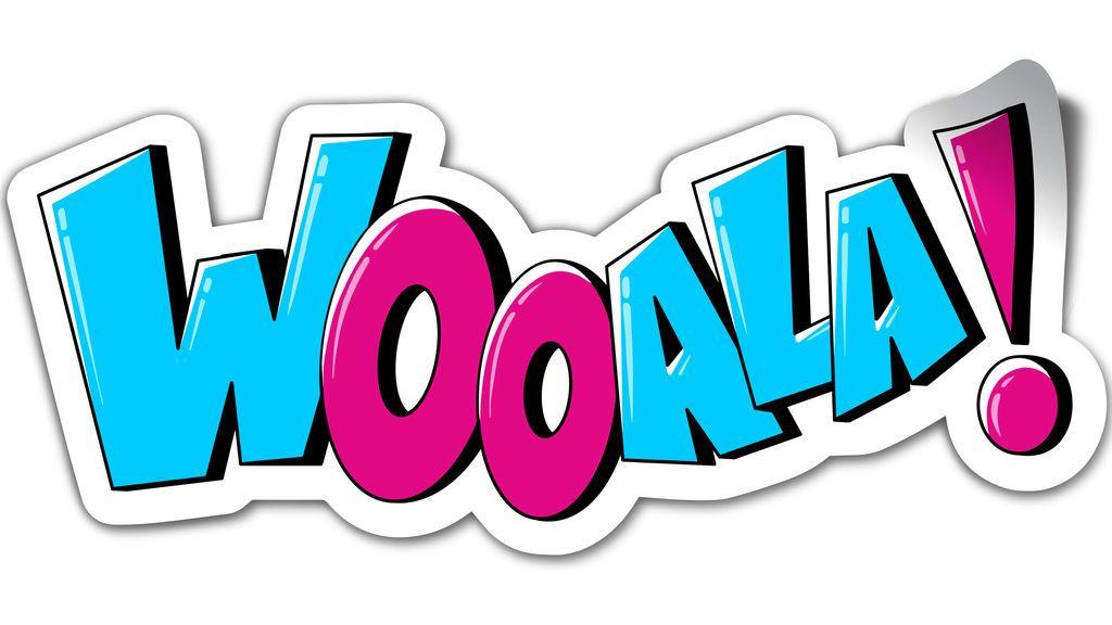 Logo de la segunda temporada de 'Wooala!'.