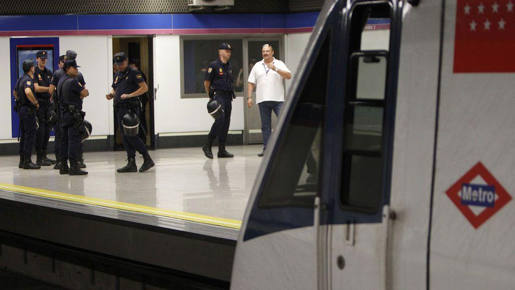 Detenido un hombre por acosar y tocar a dos menores en el Metro de Madrid