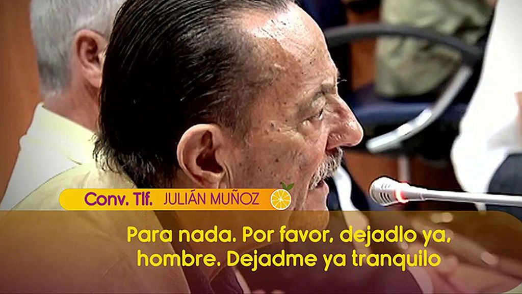 """Julián Muñoz niega estar enamorado de nuevo: """"Dejadme tranquilo que tengo 70 años"""""""