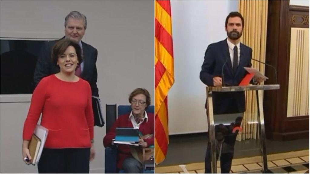 Batalla legal por la investidura de Puigdemont entre el Gobierno y los independentistas