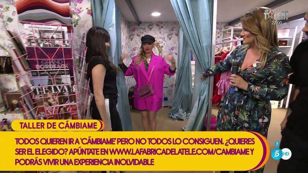 Belén Esteban se pone en manos de los estilistas de 'Cámbiame'
