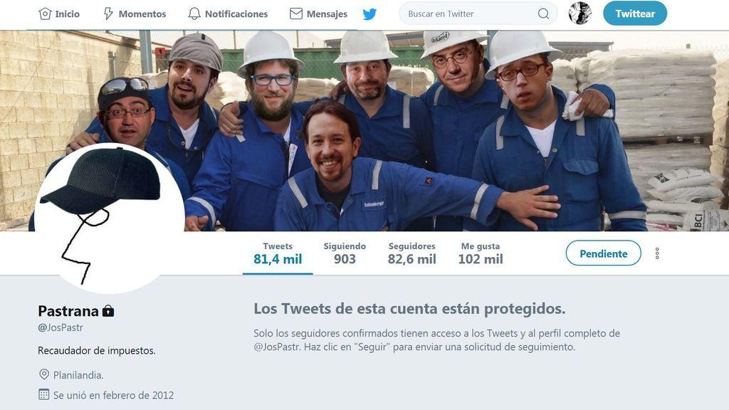 Twitter 'desenmascara' al polémico tuitero @JosPastr