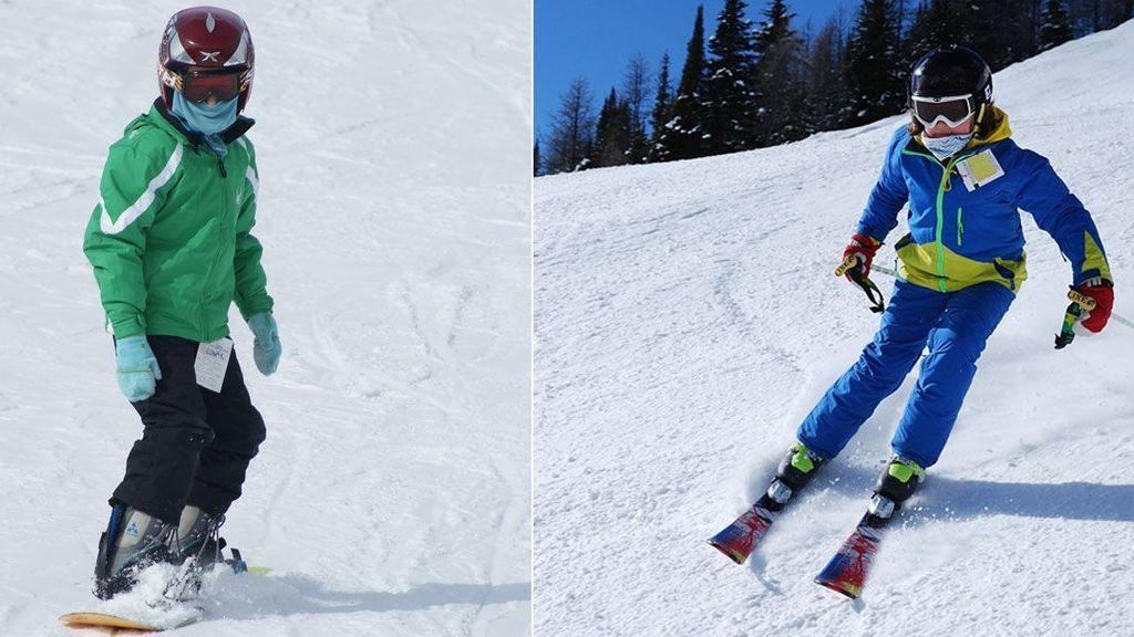 Mi primer día en la nieve: ¿Esquí o 'snow'? ¿Cuál se adapta mejor a mí?