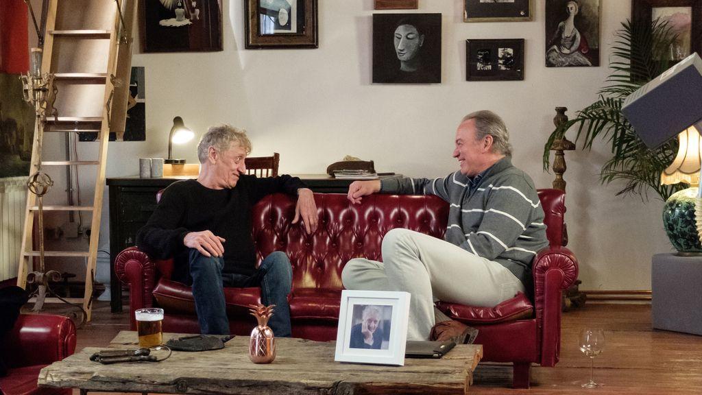 Enrique San Francisco recibe en Madrid a Bertín Osborne en 'Mi casa es la tuya'.
