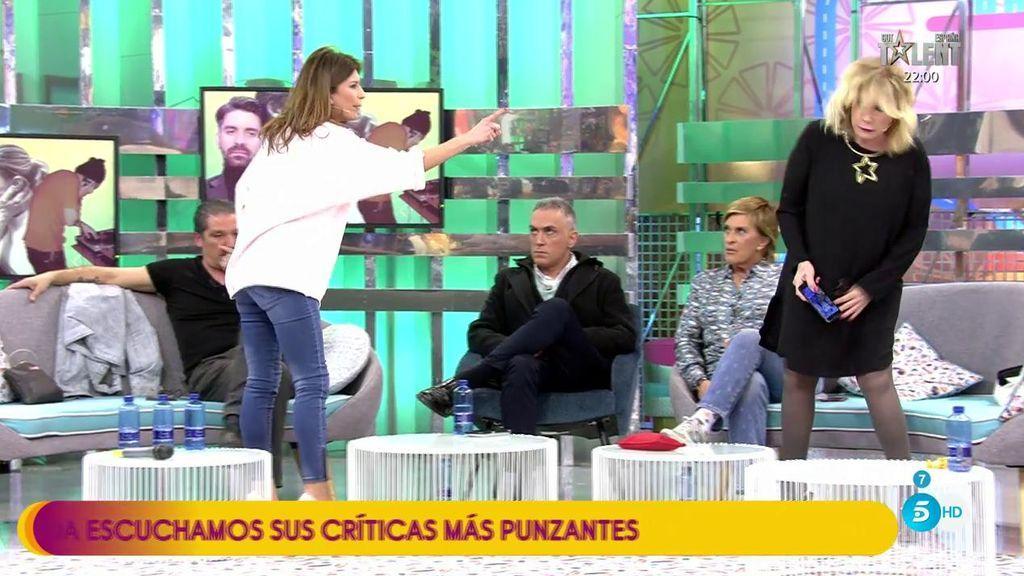 """Gema López se mosquea con Mila Ximénez: """"Yo no voy de coleguita de Gustavo y luego vengo  y lanzo la pista"""""""