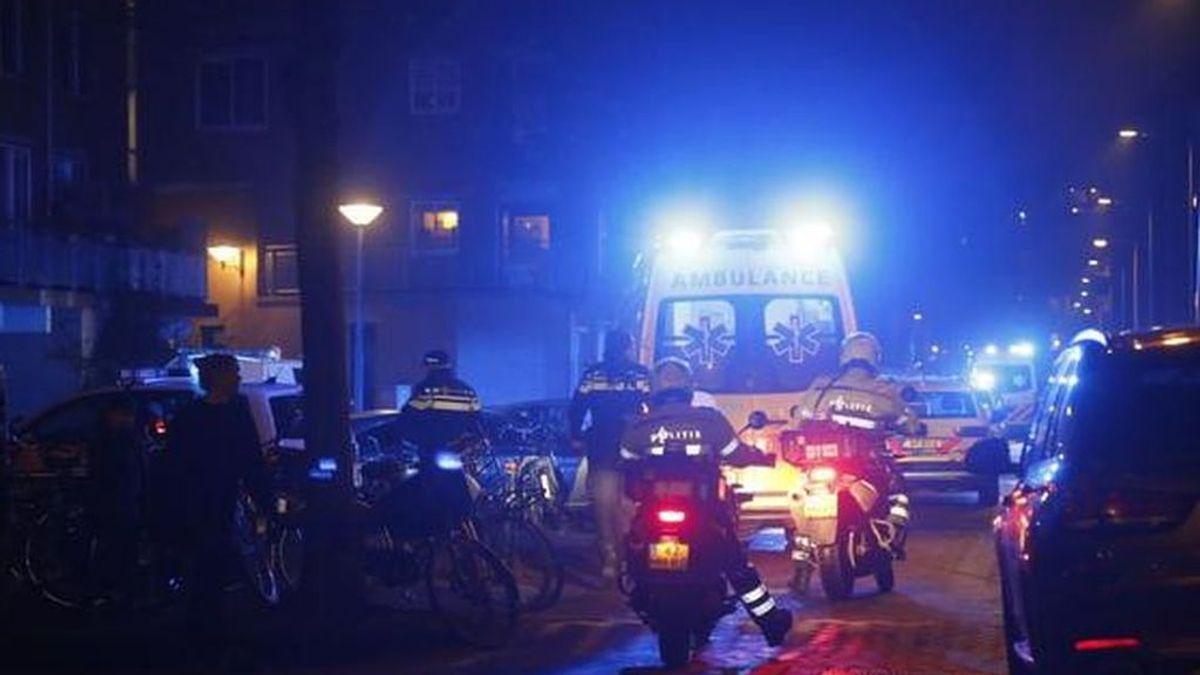 Un muerto y dos heridos en un tiroteo en Amsterdam