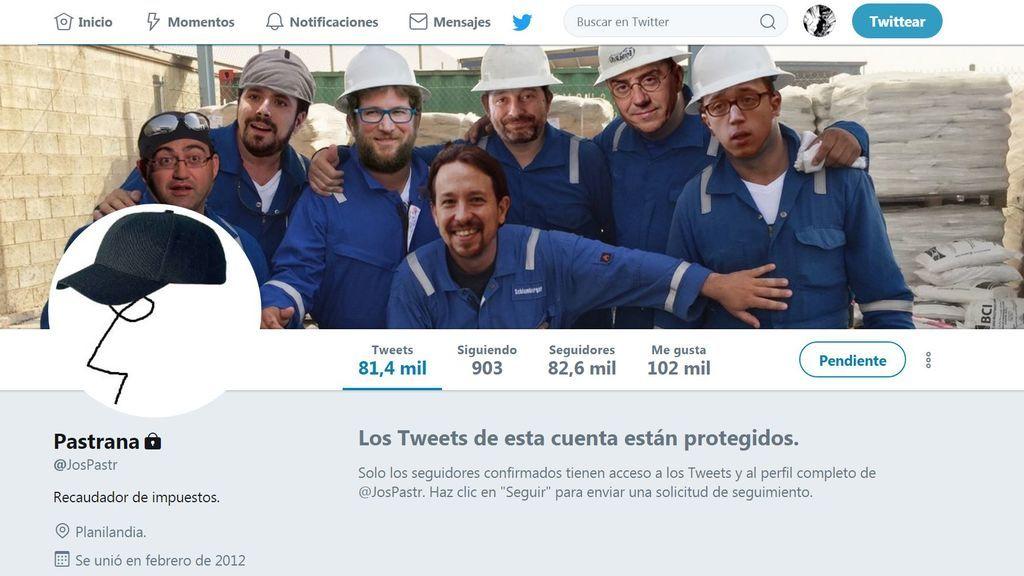 Twitter 'desenmascara' al polémico tuitero @JosPastrana