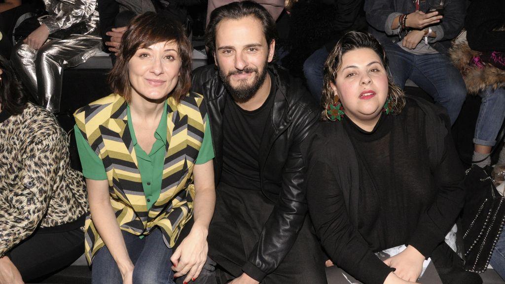 Nathalie Poza, Asier Etxeandia y Sara Sánchez