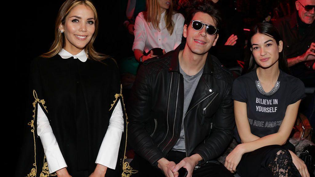 Rosanna Zanetti, Diego Matamoros y su novia... Vips en la segunda jornada de la Fashion Week Madrid