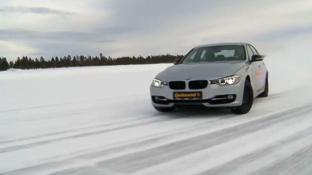 Los neumáticos de invierno, una solución que hubiera evitado que muchos coches se quedaran atrapados en la AP-6