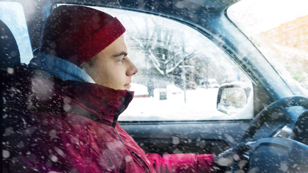 Cómo vestir para conducir seguros en invierno