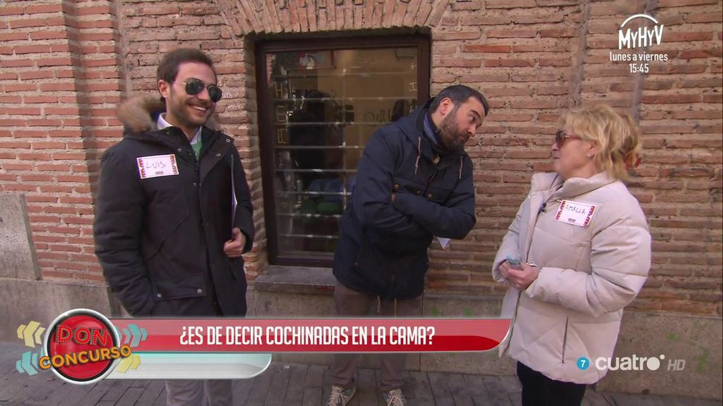 Don Concurso y las cochinadas: la ganadora no se conforma con los 80€, quiere llevarse a su ayudante