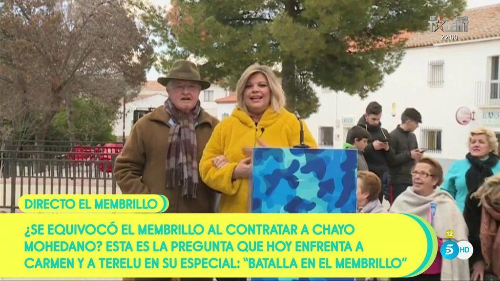 ¡A Terelu Campos le sale un pretendiente en El Membrillo!