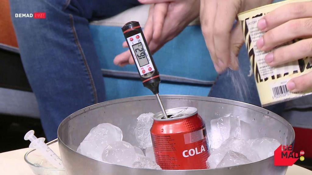 ¡Experimento en directo! El truco casero perfecto para enfriar tus bebidas a toda prisa
