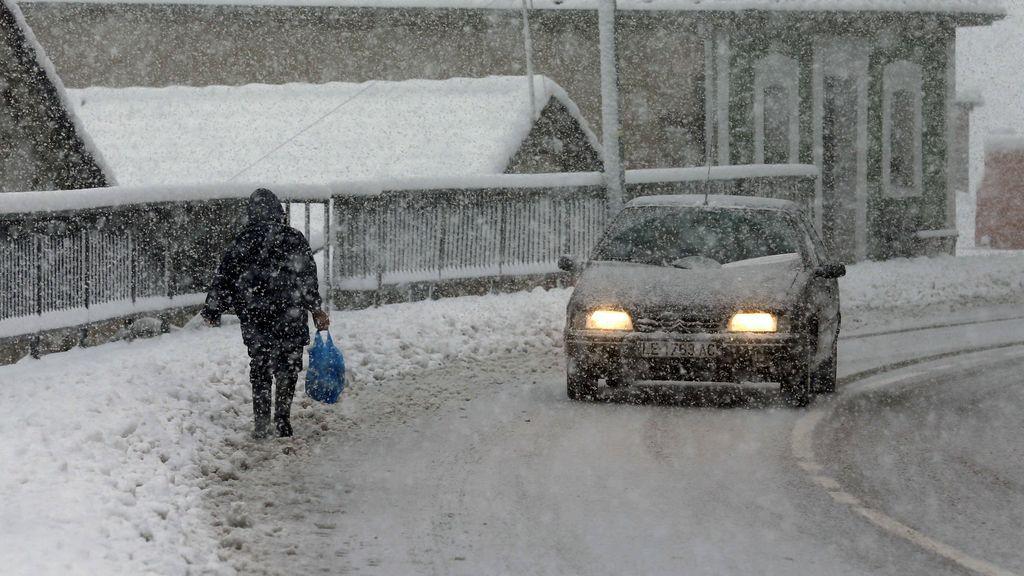 Catorce provincias, en aviso por lluvia, nieve, viento y oleaje