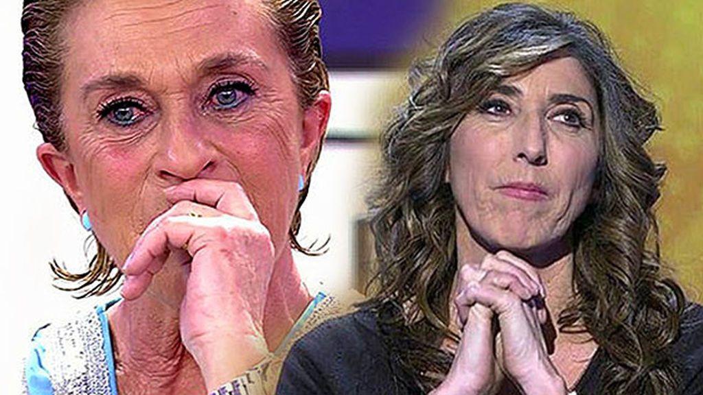 Juntas dentro y fuera de plató: Chelo Gª Cortés sorprende a Paz Padilla