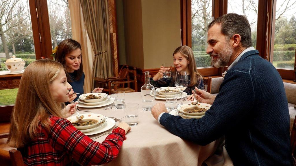 Imágenes inéditas de la vida familiar de los Reyes