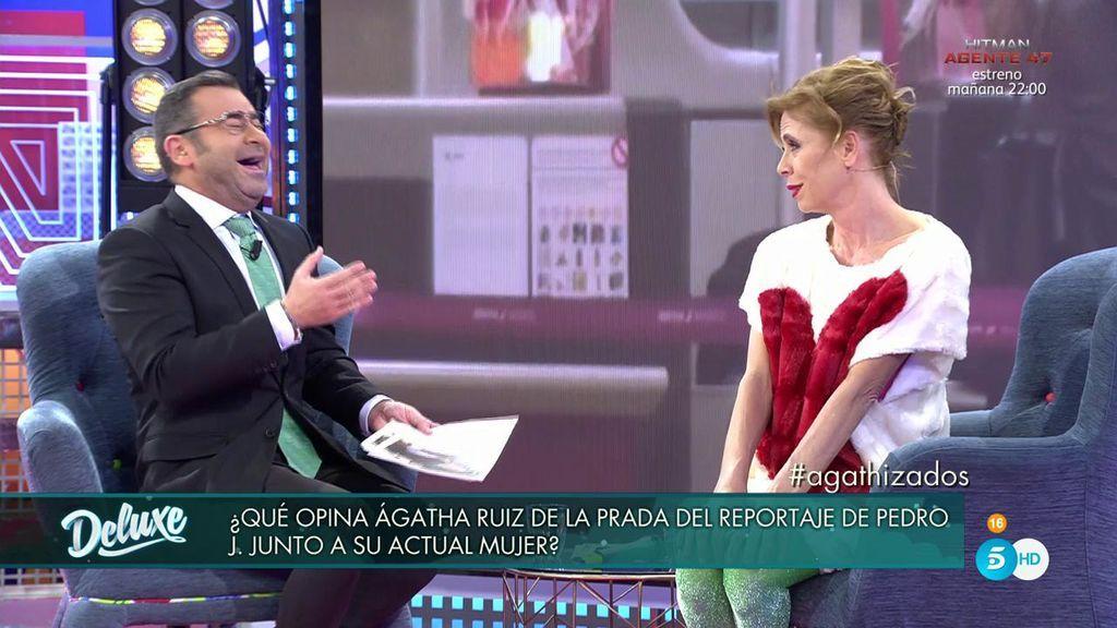 """Ágatha opina sobre su ex, 'El innombrable': """"Siempre ha sido un cursi"""""""