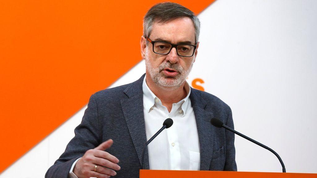 """Cs promete apoyo al Gobierno en lo que decida sobre Cataluña porque """"no es momento de criticar errores"""""""