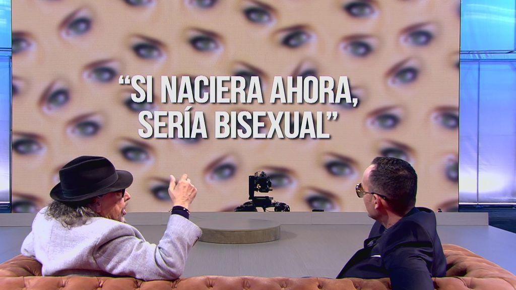 """Llongueras se sincera: """"Si naciera ahora quizás sería bisexual"""""""