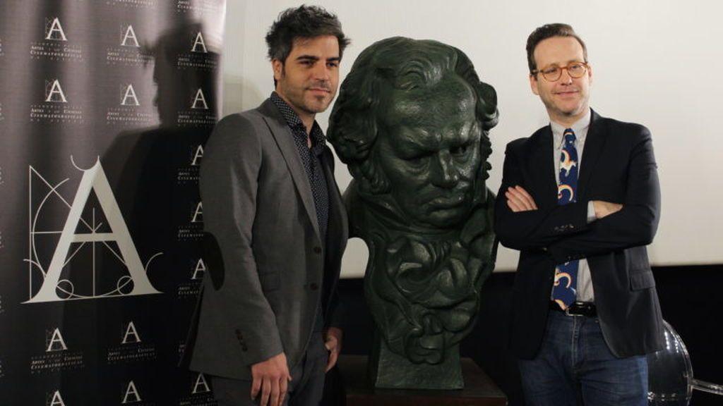 Ernesto Sevilla y Joaquín Reyes, presentadores de los Goya 2018.