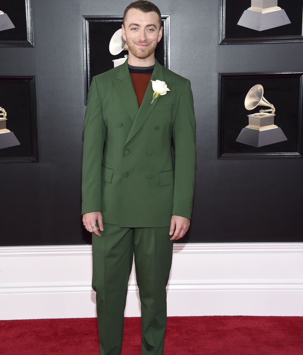 Sam Smith apoyando el movimiento Time's Up