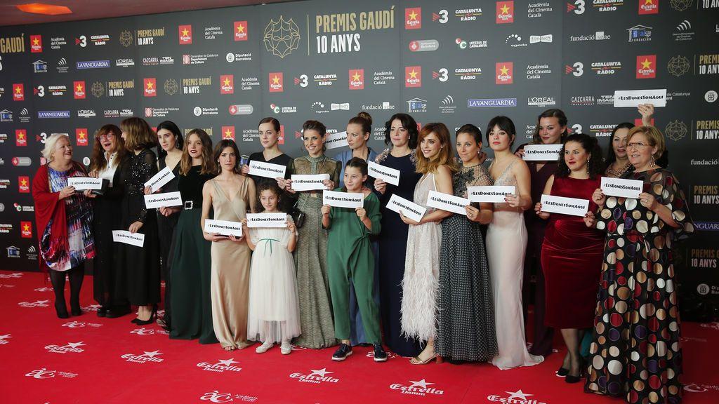 La alfombra roja en la X edición de los premios Gaudí foto a foto