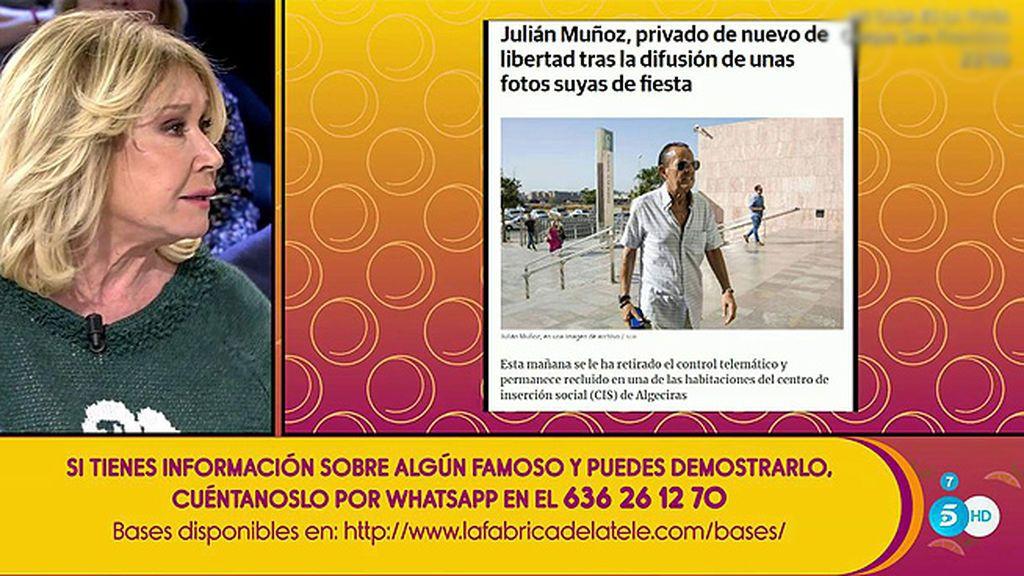Julián Muñoz, privado de nuevo de libertad tras la difusión de unas fotos bailando