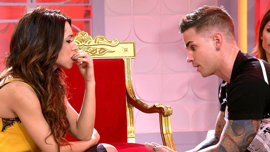 """Álex se declara a Melani: """"Lo único que te puedo decir es que te quiero"""""""