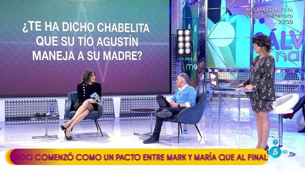 Chabelita piensa que su tío Agustín maneja a su madre, según Alejandro Albalá