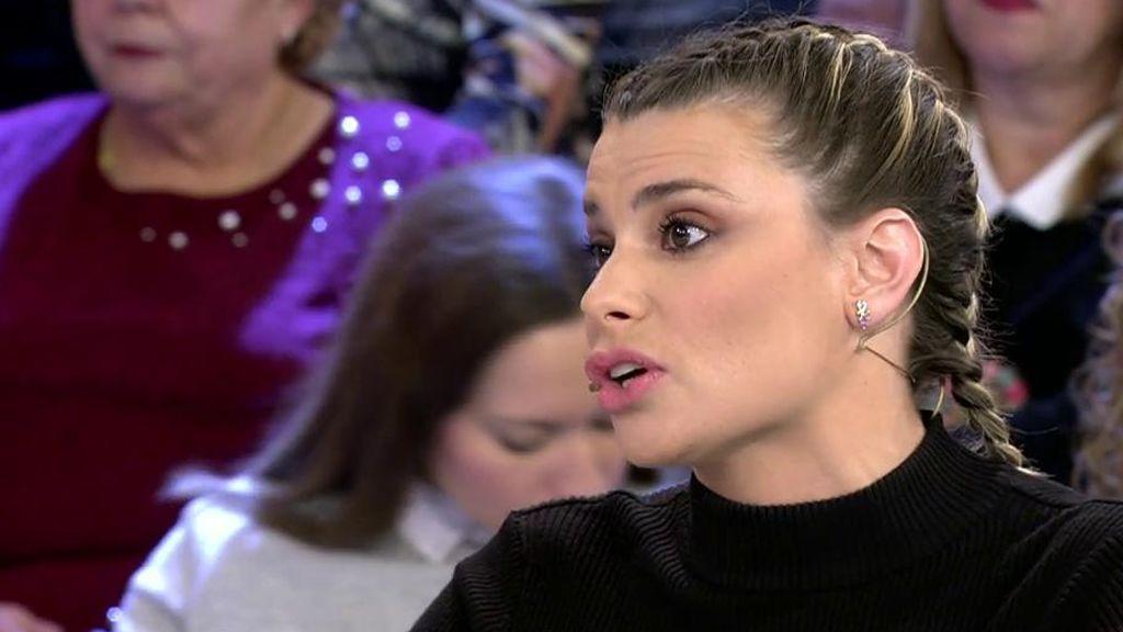"""María Lapiedra, sobre el DJ que asegura que trabaja de 'princesa': """"No le conozco de nada, la primera vez que le vea será en los tribunales"""""""