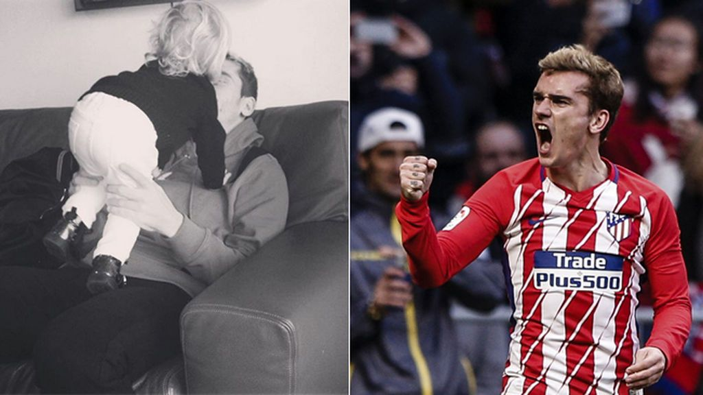 Griezmann dedicó el gol ante Las Palmas a su hija con 'Coco en su río', una canción de Cantajuegos