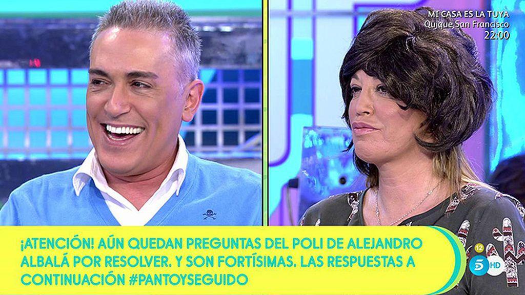 El asombroso parecido de Belén Esteban: ¡Puigdemont ha vuelto!