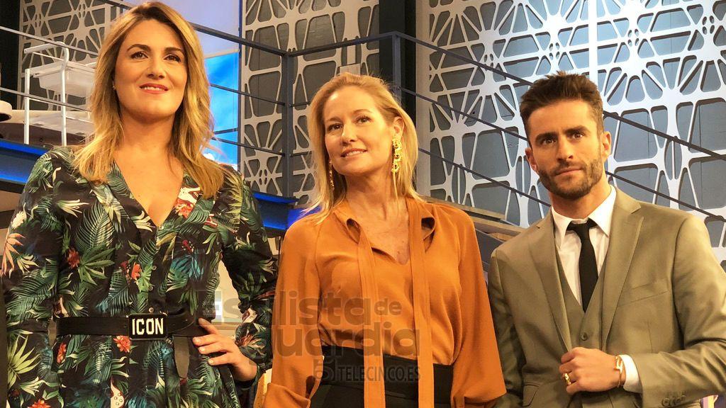Los uniformes de Cámbiame: Fiona y Pelayo con Carlota Corredera