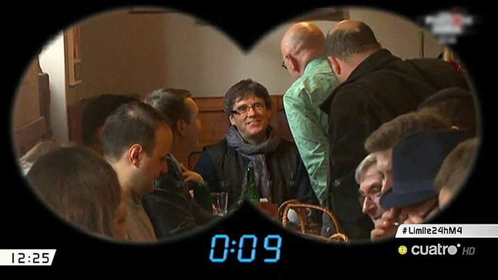 La operación 'jaula' para evitar que Puigdemont aparezca 'por sorpresa' en el Parlament