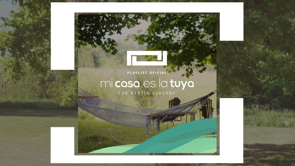 Disfruta de la mejor música del programa con la playlist oficial de 'Mi casa es la tuya' en Spotify