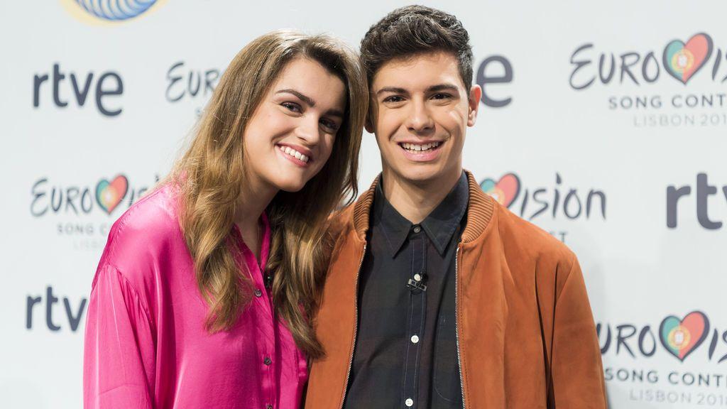 Amaia y Alfred, representantes de RTVE en Eurovisión 2018.