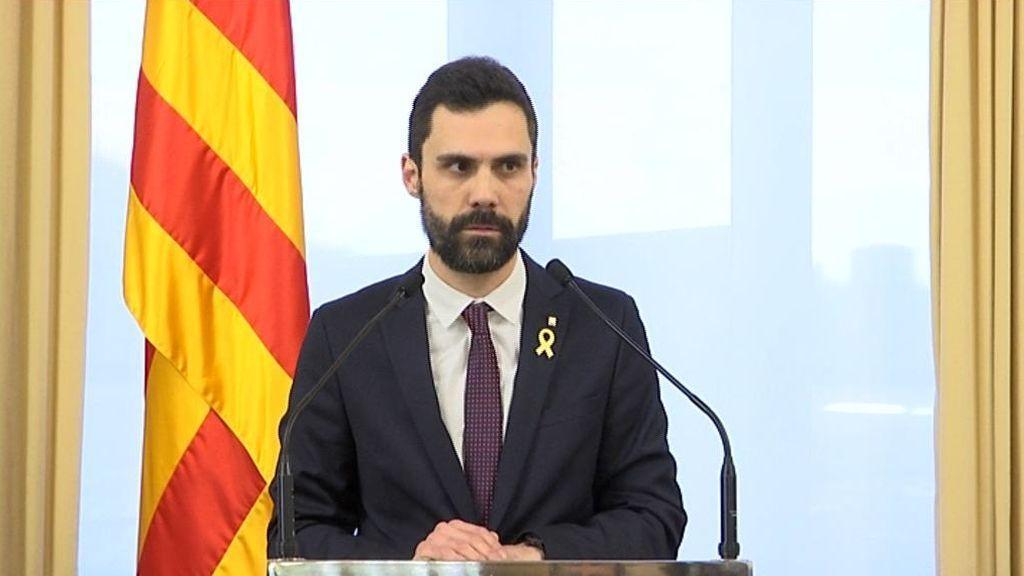Torrent aplaza el pleno de investidura y enfada a los de Puigdemont