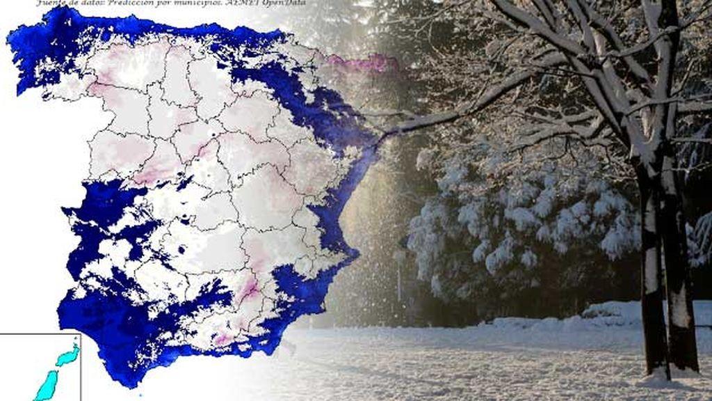 Cambio brusco de tiempo: una bolsa de aire muy frío entra por el norte este jueves