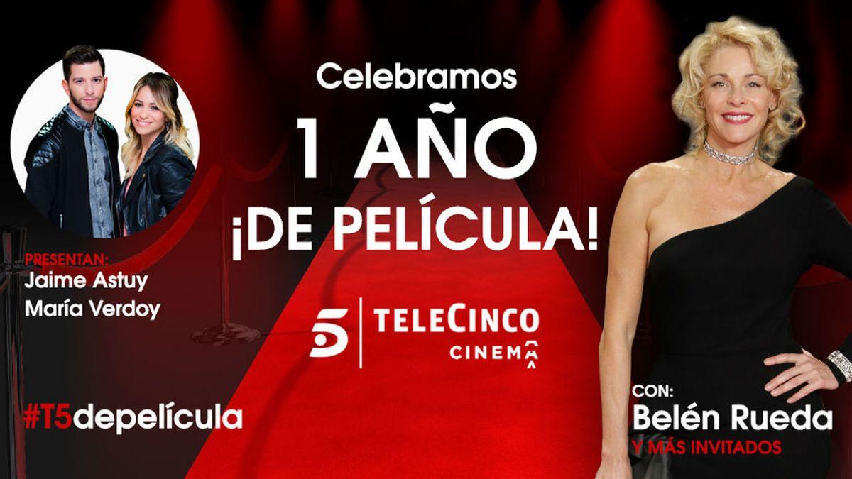 'Telecinco Cinema: ¡un año de película!', con Belén Rueda