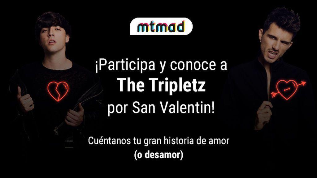 ¿Quieres celebrar tu amor este San Valentín con The Tripletz? ¡Participa!