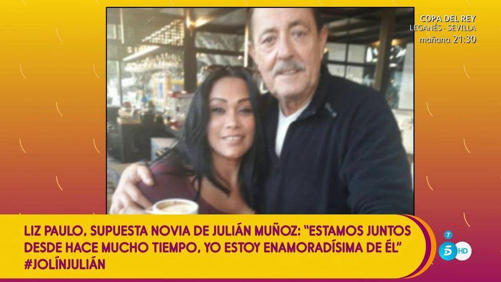 """Kiko Hernández niega a Liz, supuesta novia de Julián Muñoz: """"Es un montaje"""""""