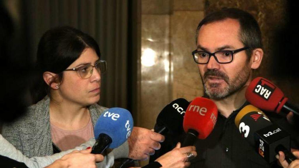 """El vicepresidente del Parlament defiende investir a Puigdemont ante las """"amenazas"""" del Estado"""